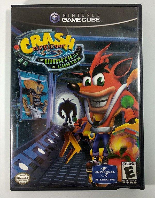 Crash Bandicoot The Wrath Of Cortex Original - GC