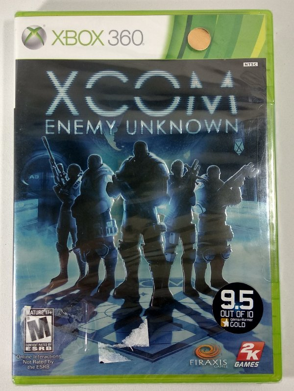 XCOM Enemy Unknowm (Lacrado) - Xbox 360
