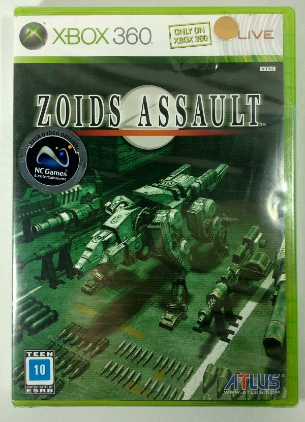 Zoids Assault (Lacrado) - Xbox 360
