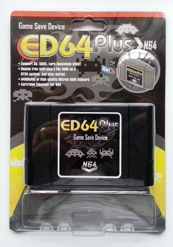350 in 1 (Flashcard ED64PLUS) - Nintendo 64