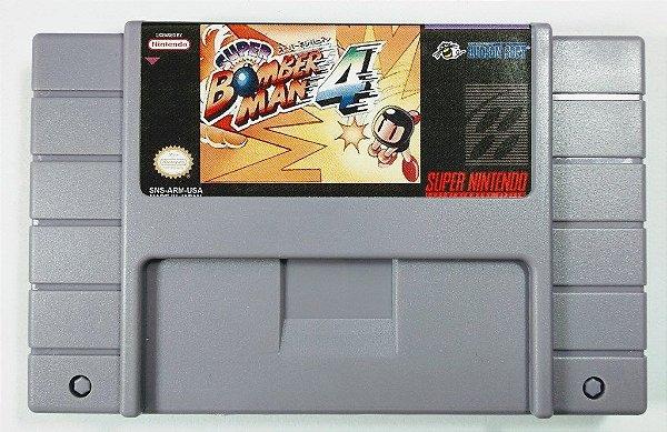Jogo Super Bomberman 4 - SNES