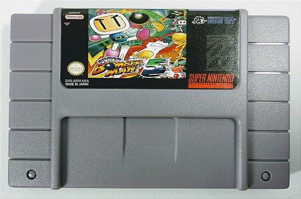 Jogo Super Bomberman 5 - SNES