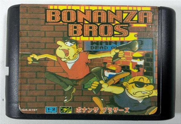 Bonanza Bros - Mega Drive