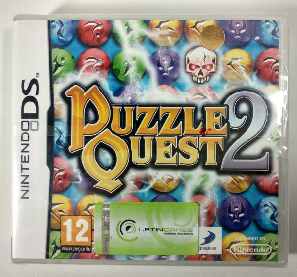 Puzzle Quest 2 Original (LACRADO) [EUROPEU] - DS