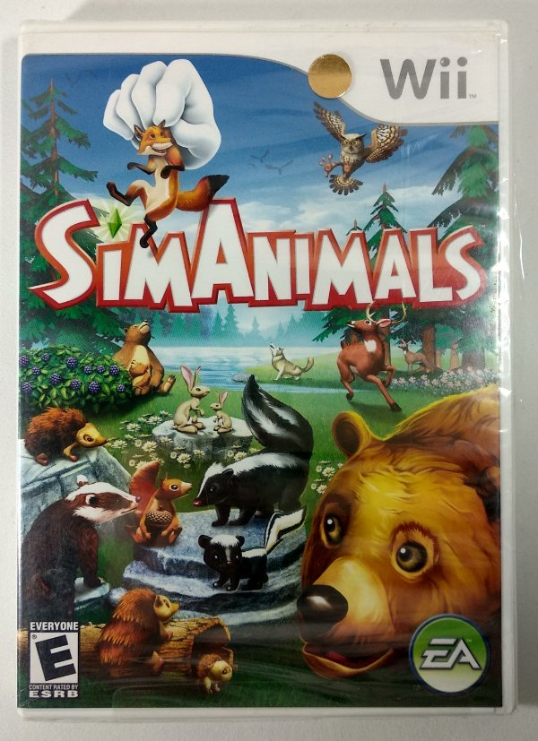 Sim Animals Original (Lacrado) - Wii