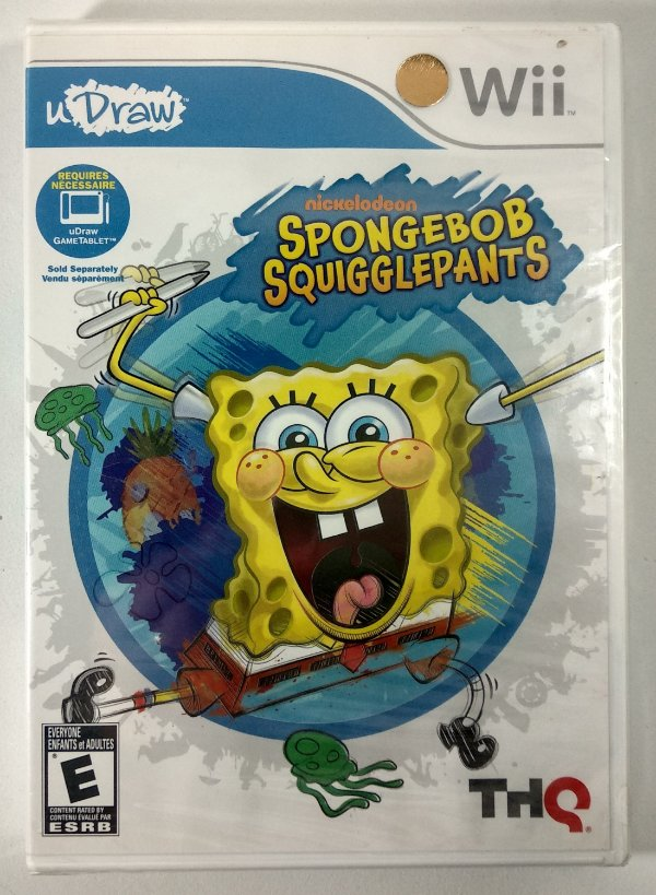 Sponge Bob Squigglepants Original (Lacrado) - uDraw Wii