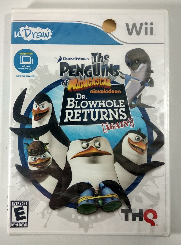 The Penguins Dr. Blowhole Returns Again Original (Lacrado) - uDraw Wii