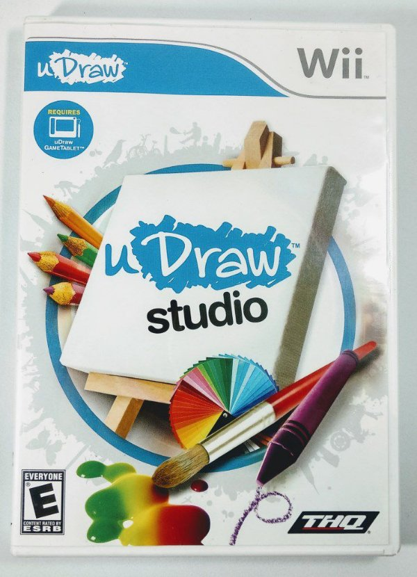 uDraw Studio Instant Artist Original - uDraw Wii
