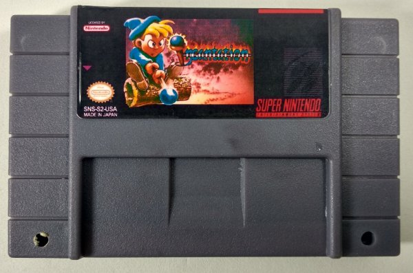 Incantation - SNES