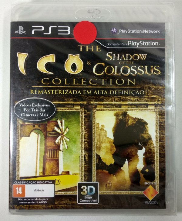 The Ico & Shadow of the Colossus (Lacrado) - PS3
