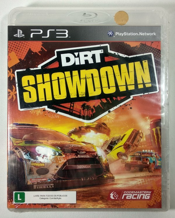 Dirt Showdown (Lacrado) - PS3