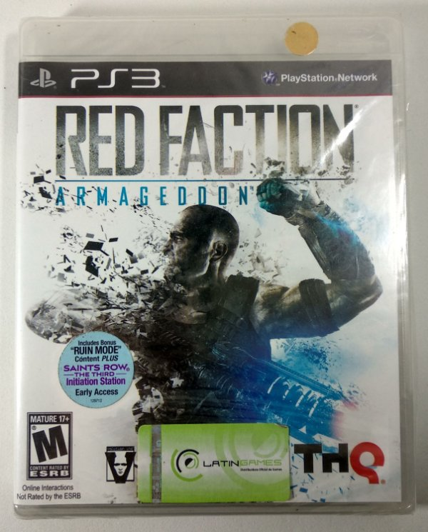 Red Faction Armagedon (Lacrado) - PS3
