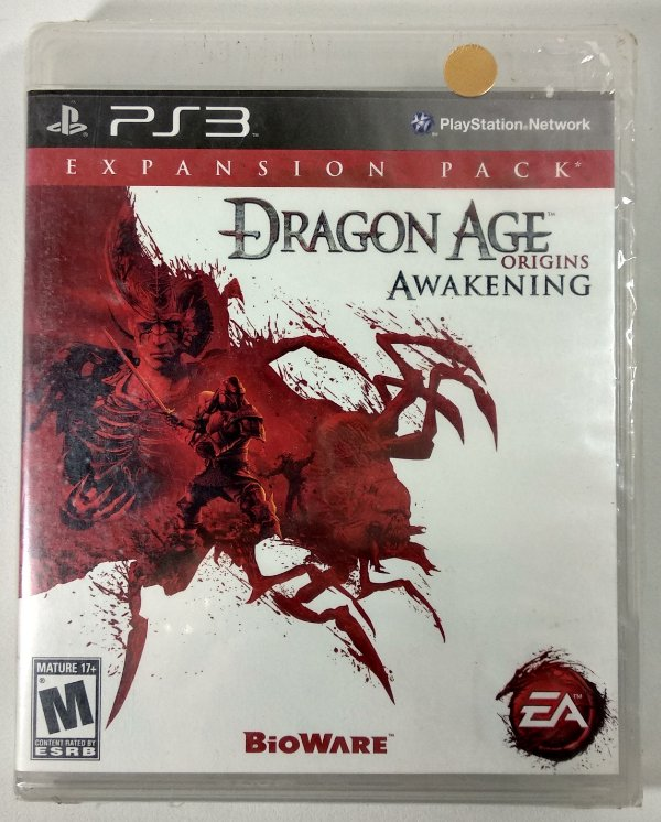 Dragon Age Origins Awakening (Lacrado) - PS3