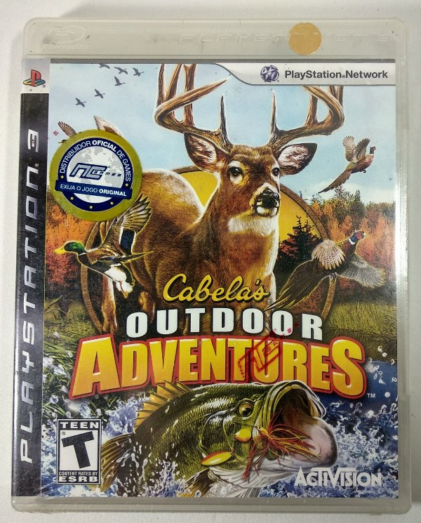 Cabelas outdoor Adventures (Lacrado) - PS3