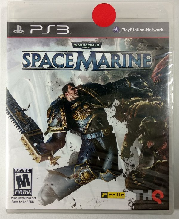 Warhammer Space Marine (Lacrado) - PS3