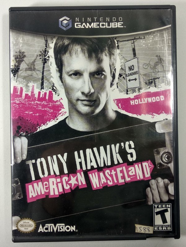 Tony Hawks American Wasteland Original - GC