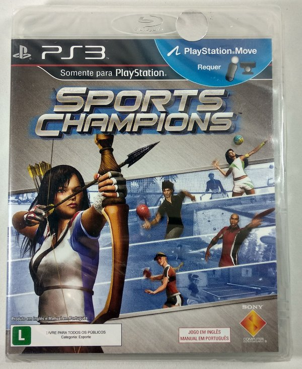 Sports Champions (Lacrado) - PS3