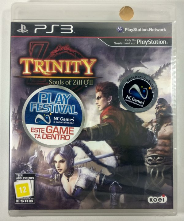 Trinity Soul of Zill Oll (Lacrado) - PS3