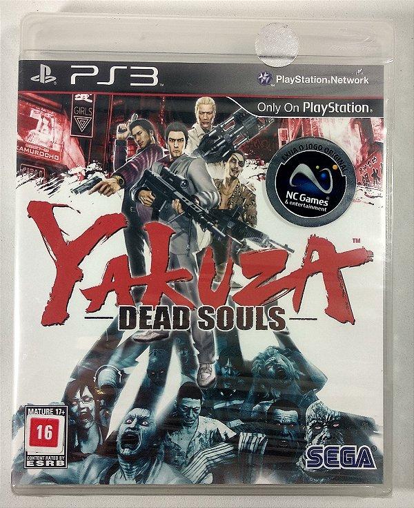 Yakuza Dead Souls (Lacrado) - PS3