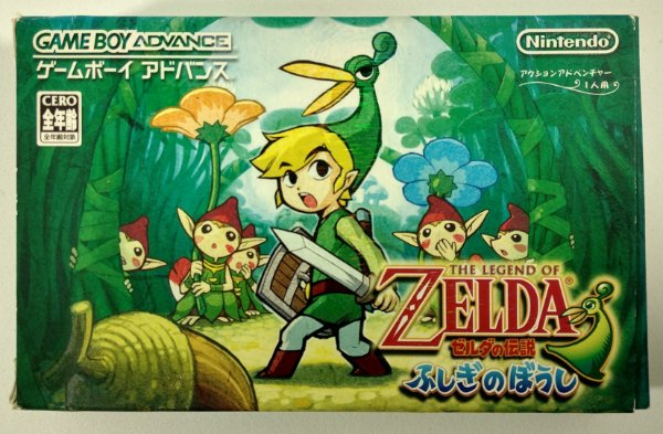 The Legend of Zelda: The Minish Cap ORIGINAL [JAPONÊS] - GBA