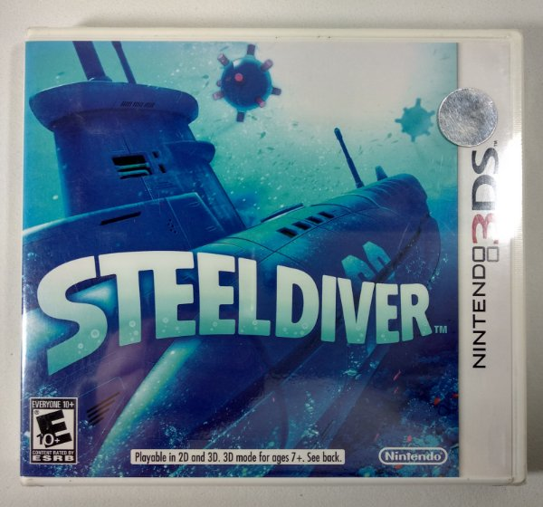 Steel Diver Original (Lacrado) - 3DS