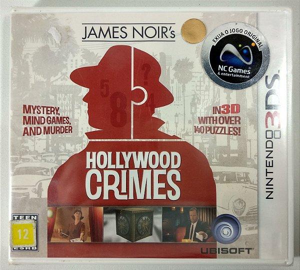 Hollywood Crimes Original (Lacrado) - 3DS