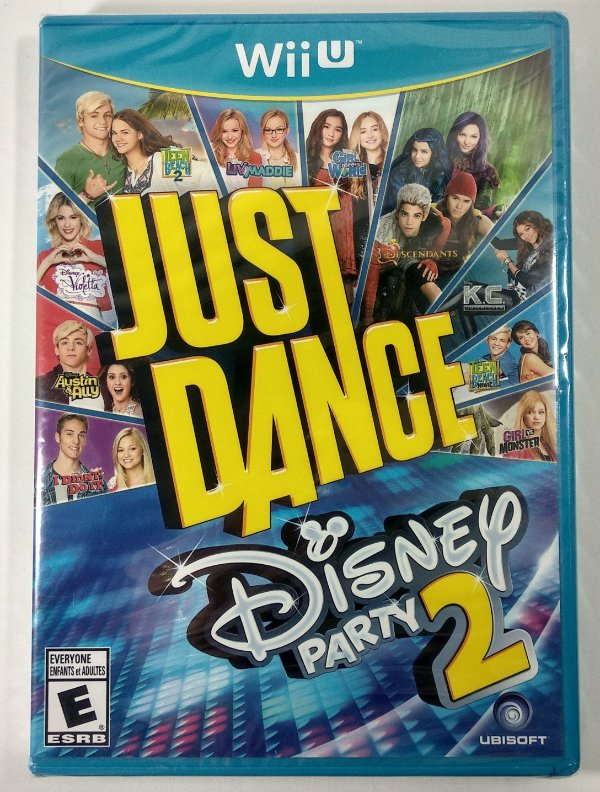 Just Dance Disney Party 2 Original (Lacrado)  - Wii U