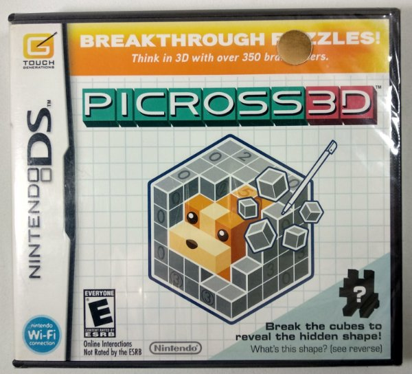Picross 3D Original (LACRADO) - DS