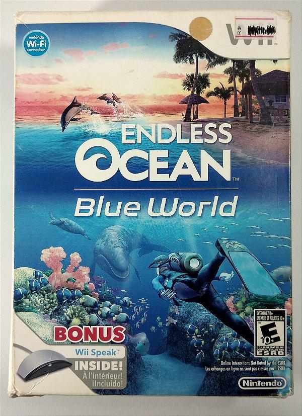 Endless Ocean Blue World Original (Lacrado) - Wii