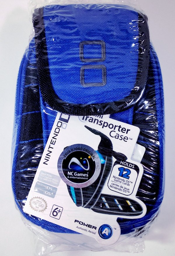 Case Mini Transporter Azul Original (LACRADO) - DS