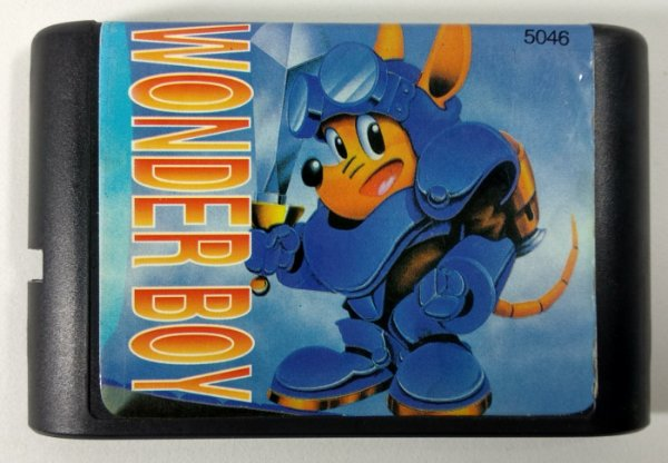 Wonder Boy 3 - Mega Drive