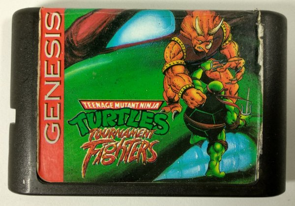 Turtles Tournament Fighters - Mega Drive