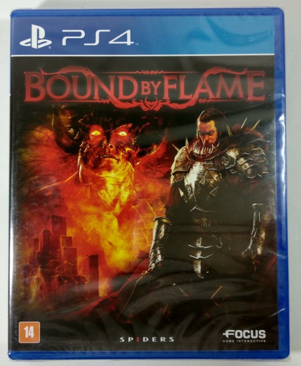 Jogo Bound by Flame (lacrado) - PS4