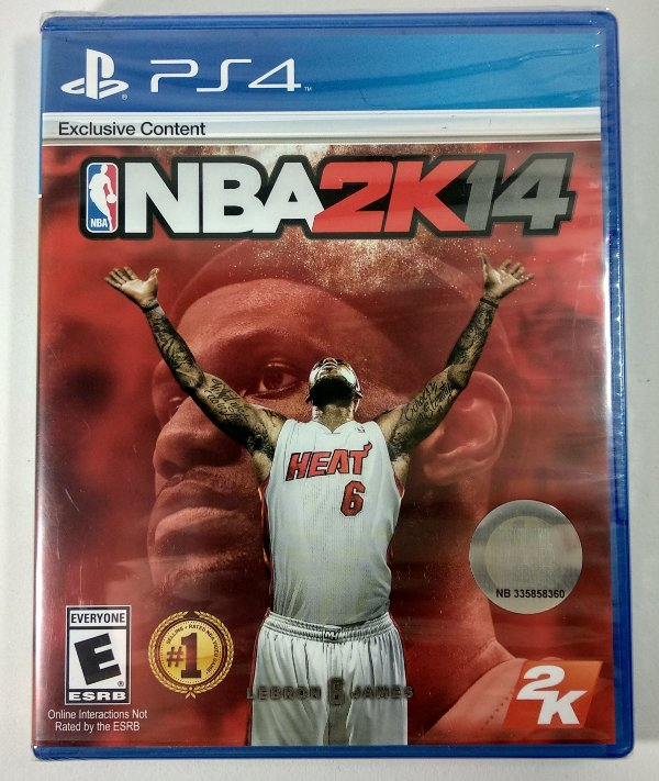 NBA 2k14 (lacrado) - PS4