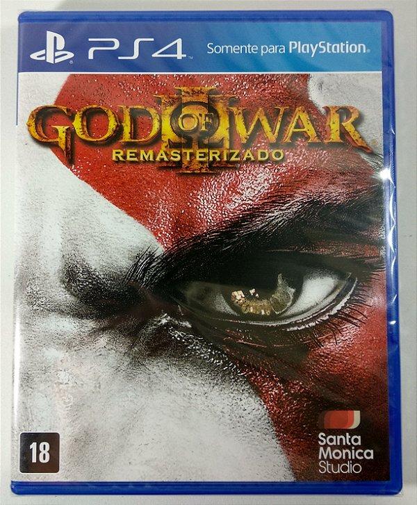 God of War III Remasterizado (lacrado) - PS4