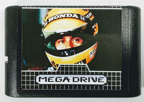 Jogo Ayrton Senna Monaco GP II - Mega Drive