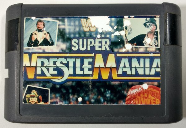 Wrestlemania - Mega Drive