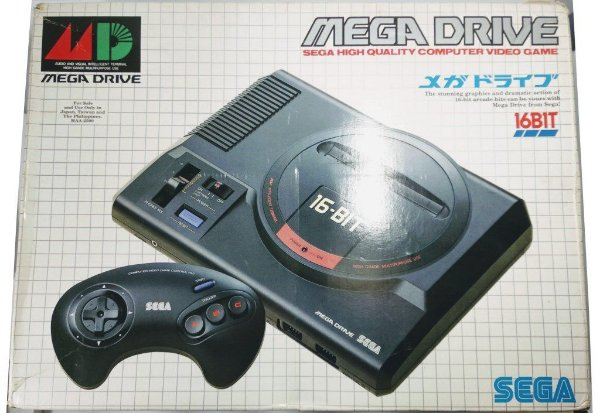 Console Mega Drive Japonês (inclui caixa original)
