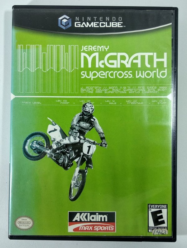 Jeremy Mc Grath Supercross World Original - GC