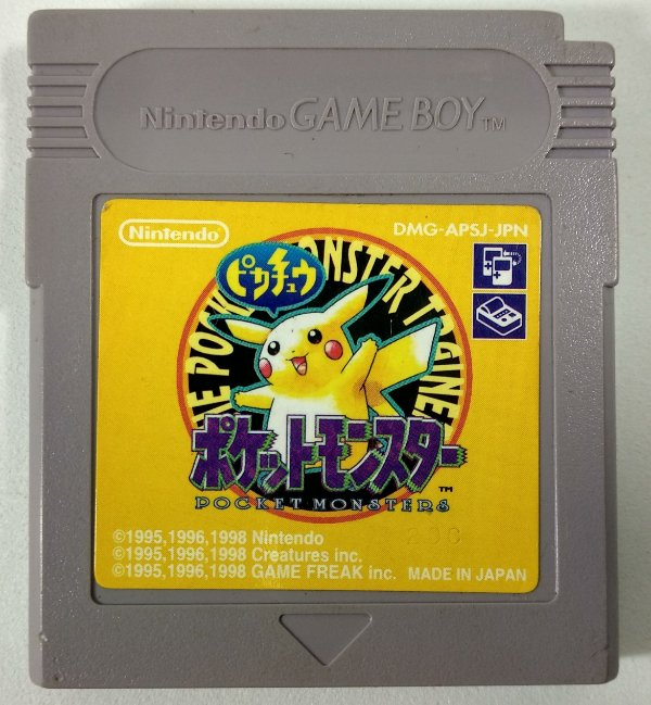 Pokemon Yellow ORIGINAL [JAPONÊS] - GBC