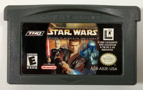 Star Wars Episode II ORIGINAL - GBA