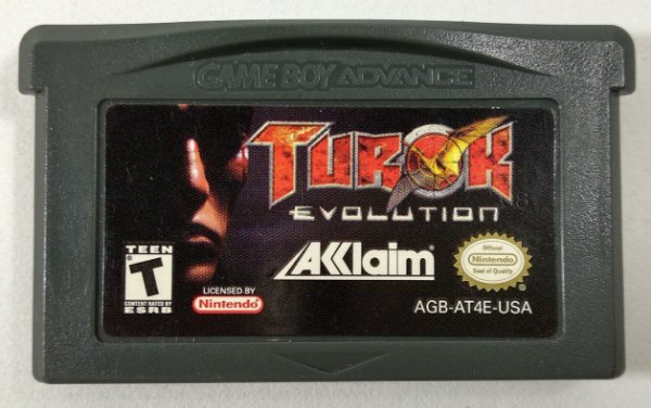Turok Evolution ORIGINAL - GBA