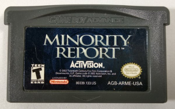 Minority Report ORIGINAL - GBA