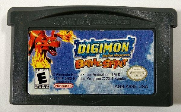 Digimon Battle Spirit ORIGINAL - GBA