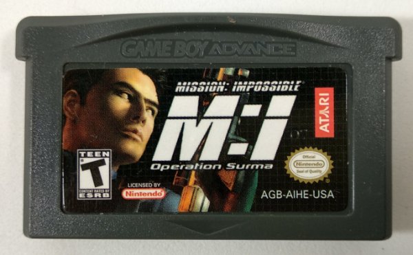 Mission: Impossible Operation Suma ORIGINAL - GBA