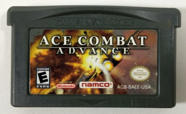 Ace Combat Advance ORIGINAL - GBA