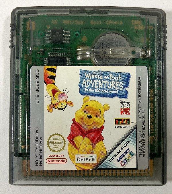 Jogo Winnie the Pooh Adventures ORIGINAL - GBC