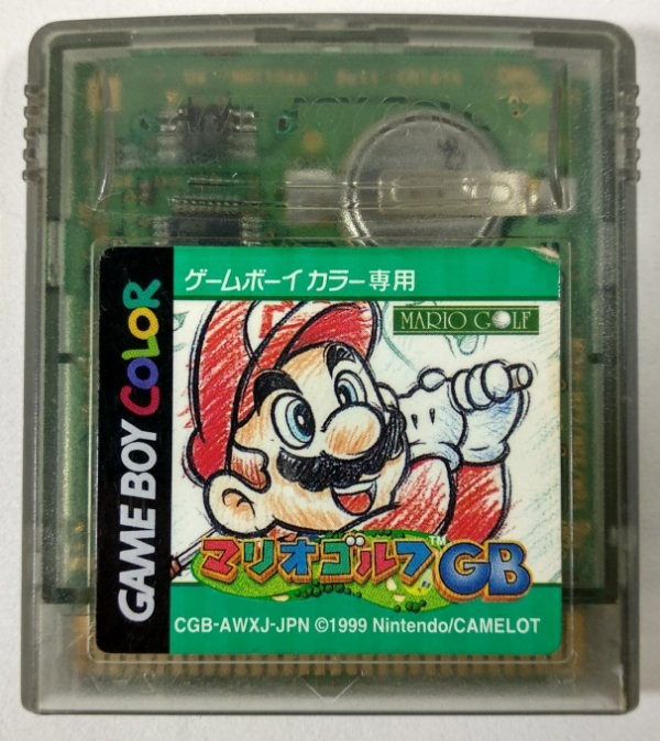 Mario Golf GB ORIGINAL [JAPONÊS] - GBC