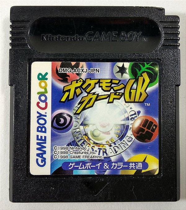 Pokemon Trading Card ORIGINAL [JAPONÊS] - GB