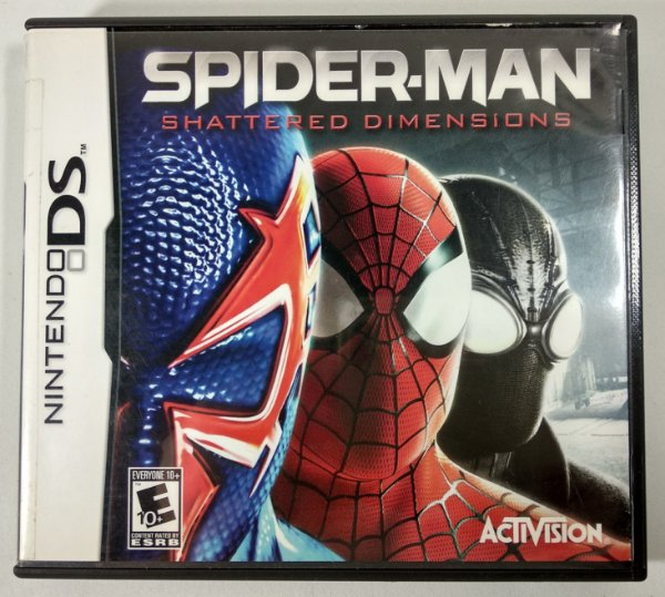 Spider-man Shattered Dimensions Original - DS